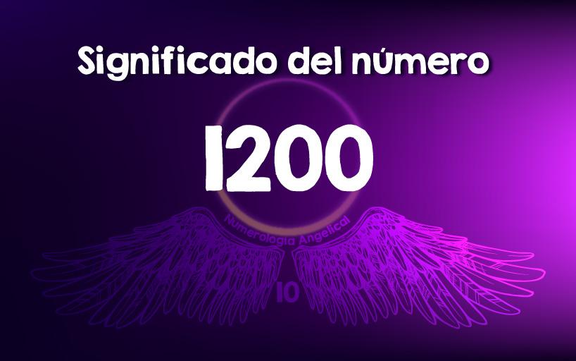 Significado del número 1200