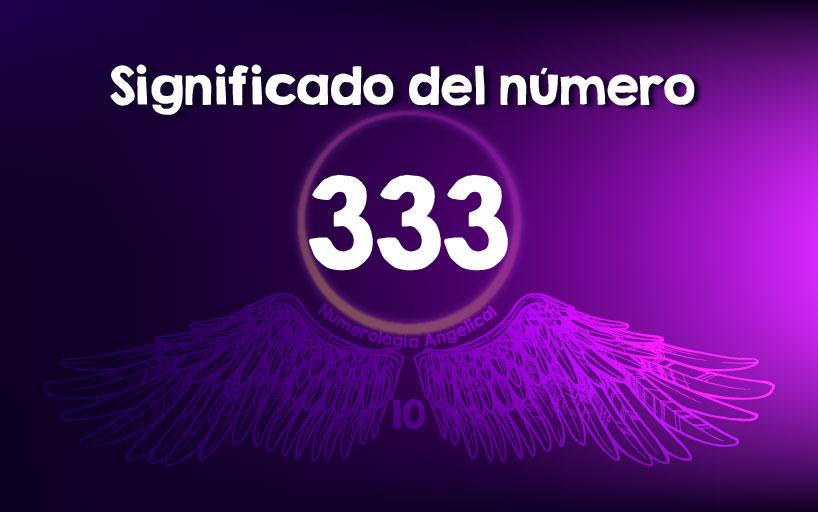 Significado del número 333