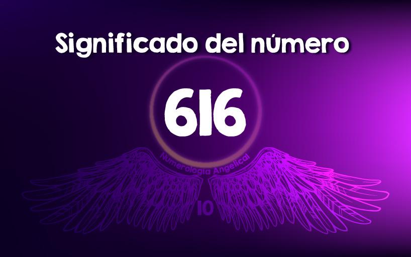 Significado del número 616