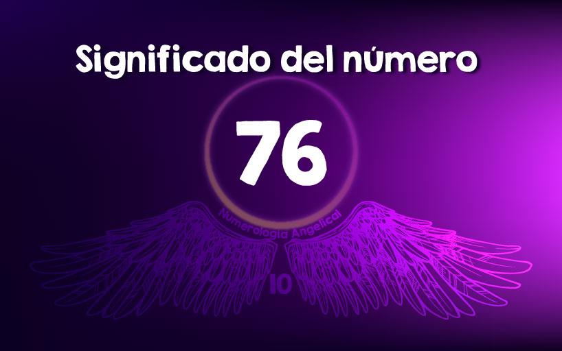 Significado del número 76