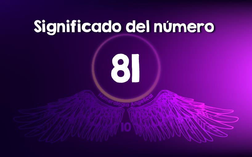 Significado del número 81