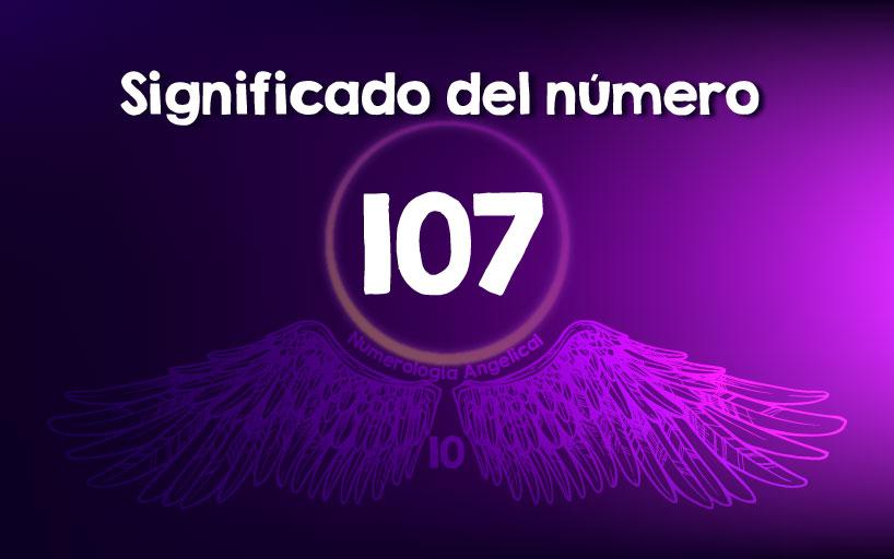 Significado del número 107