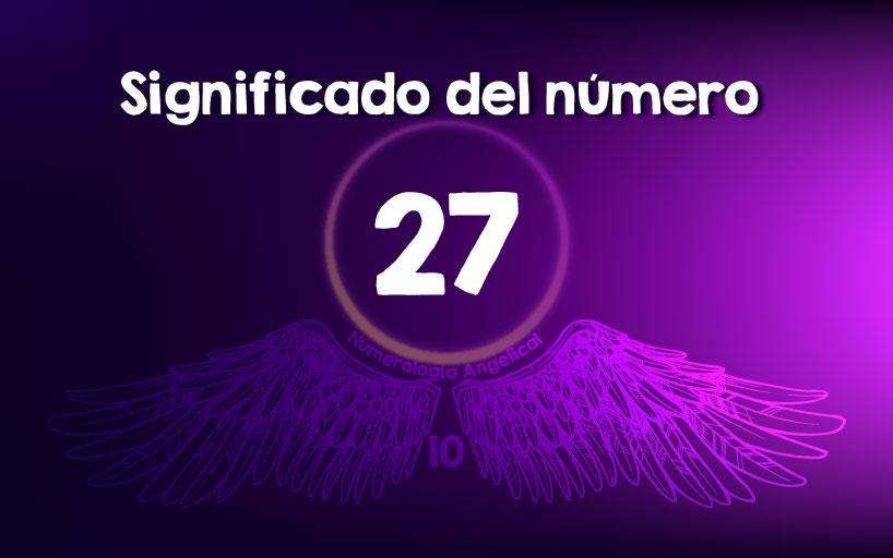 Significado del número 27