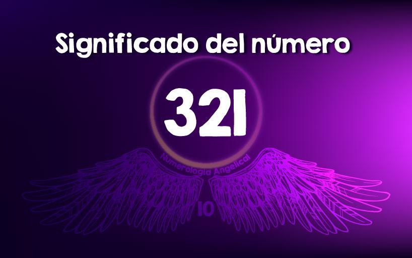 Significado del número 321