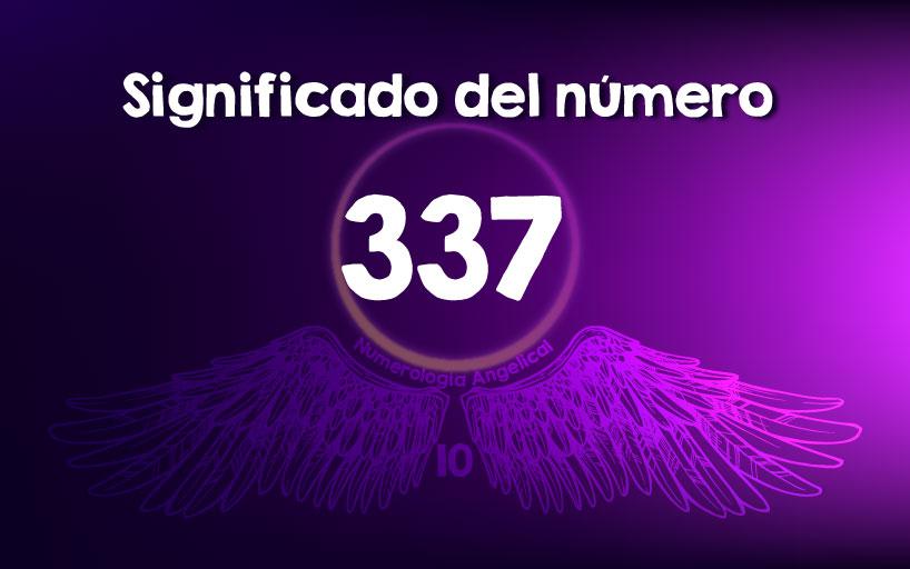 Significado del número 337