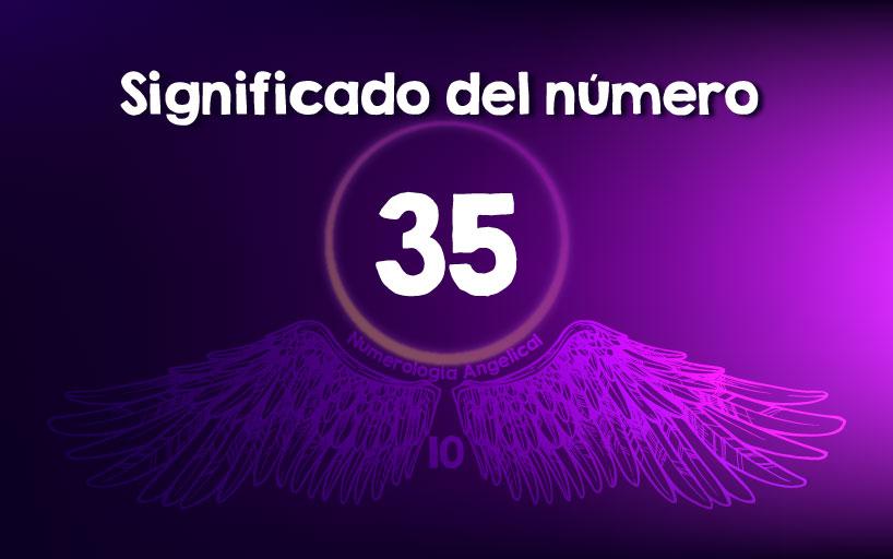 Significado del número 35