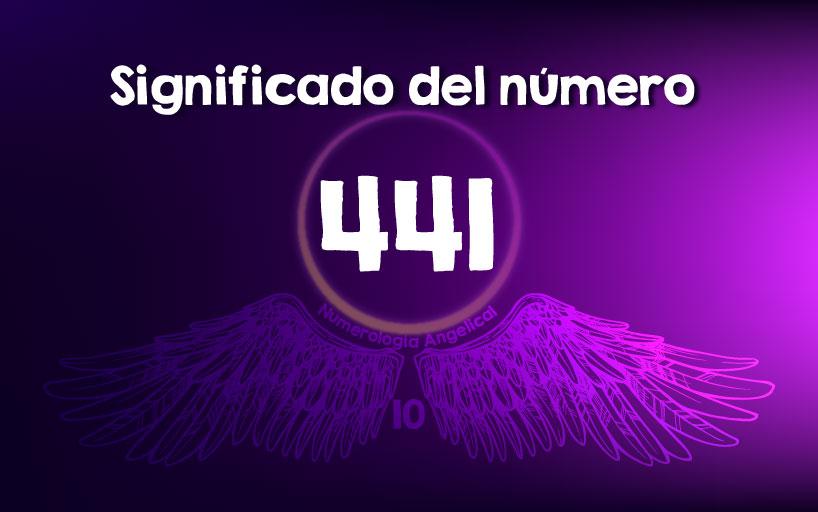Significado del número 441