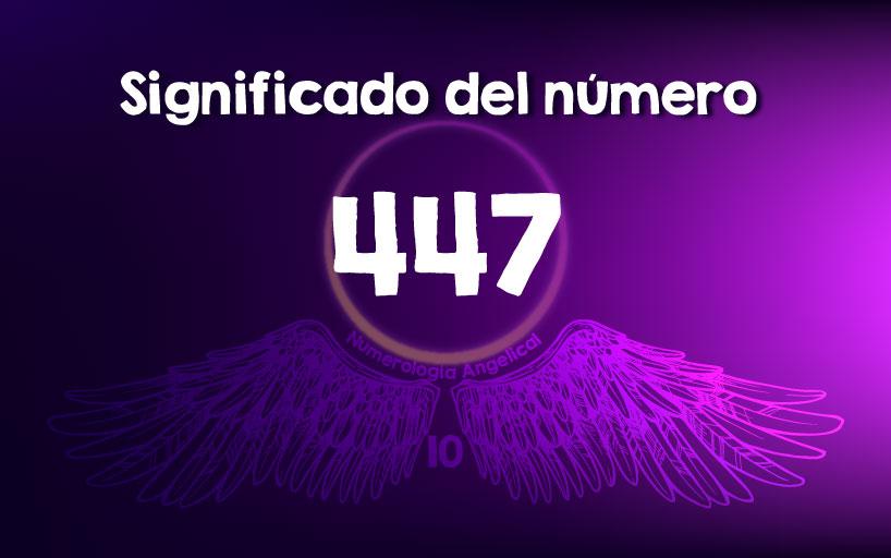 Significado del número 447