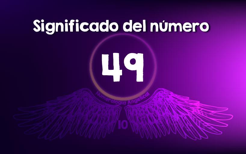 Significado del número 49