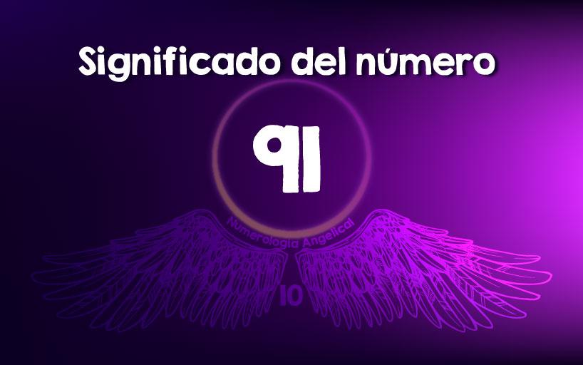 Significado del número 91