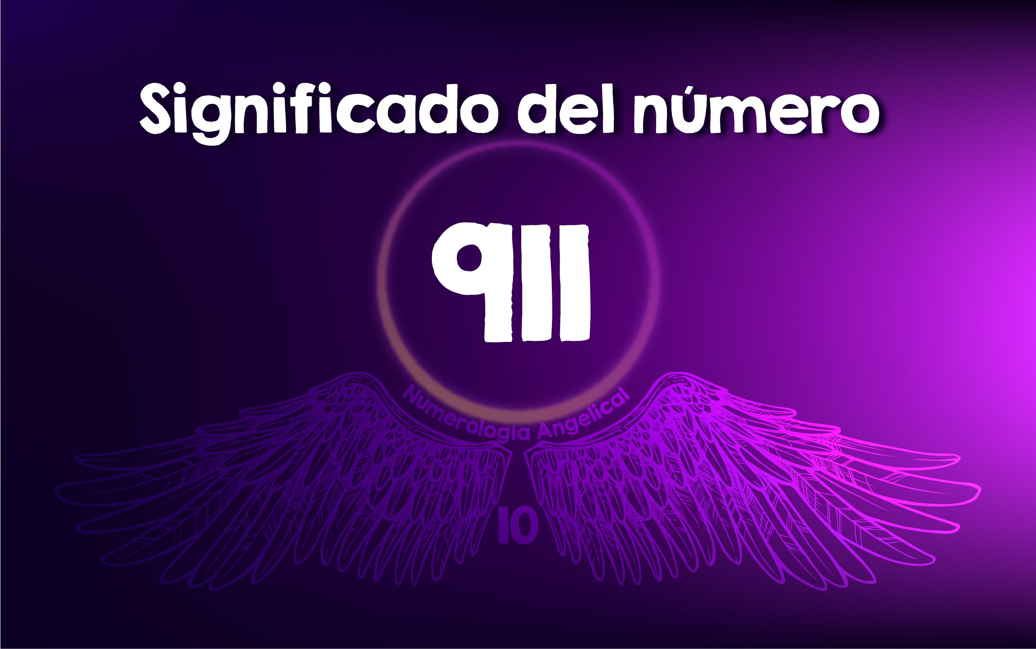 Significado del número 911