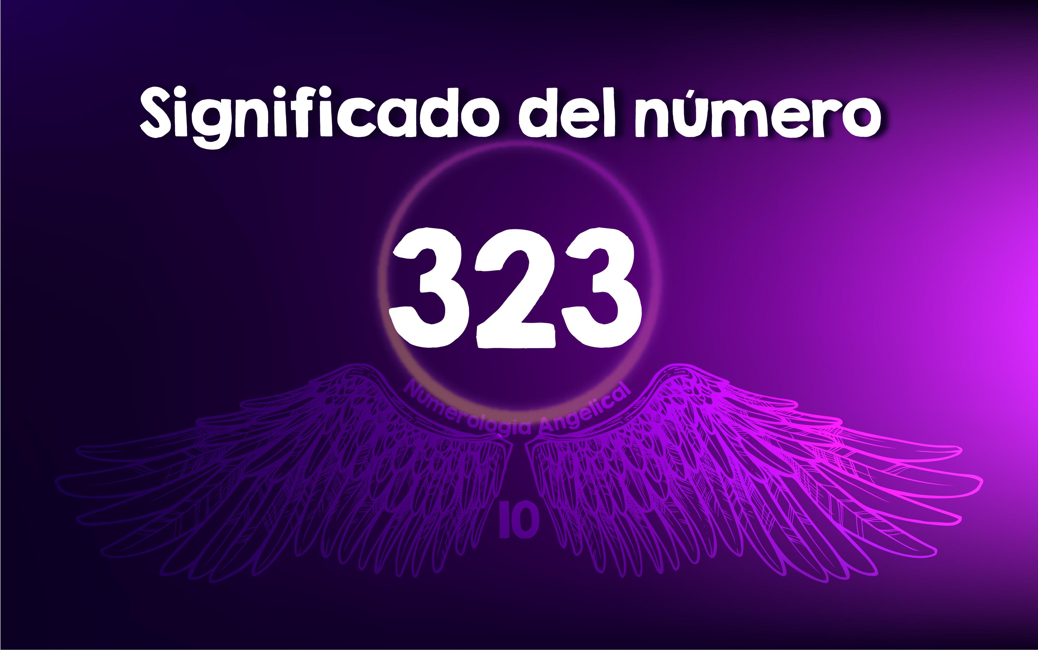 Significado del número 323