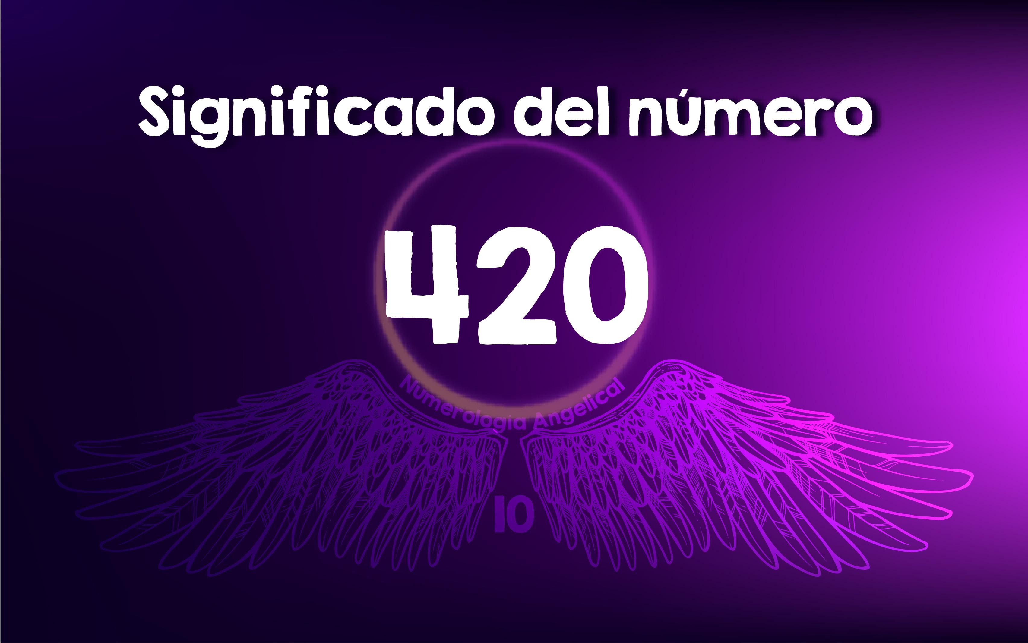 Significado del número 420
