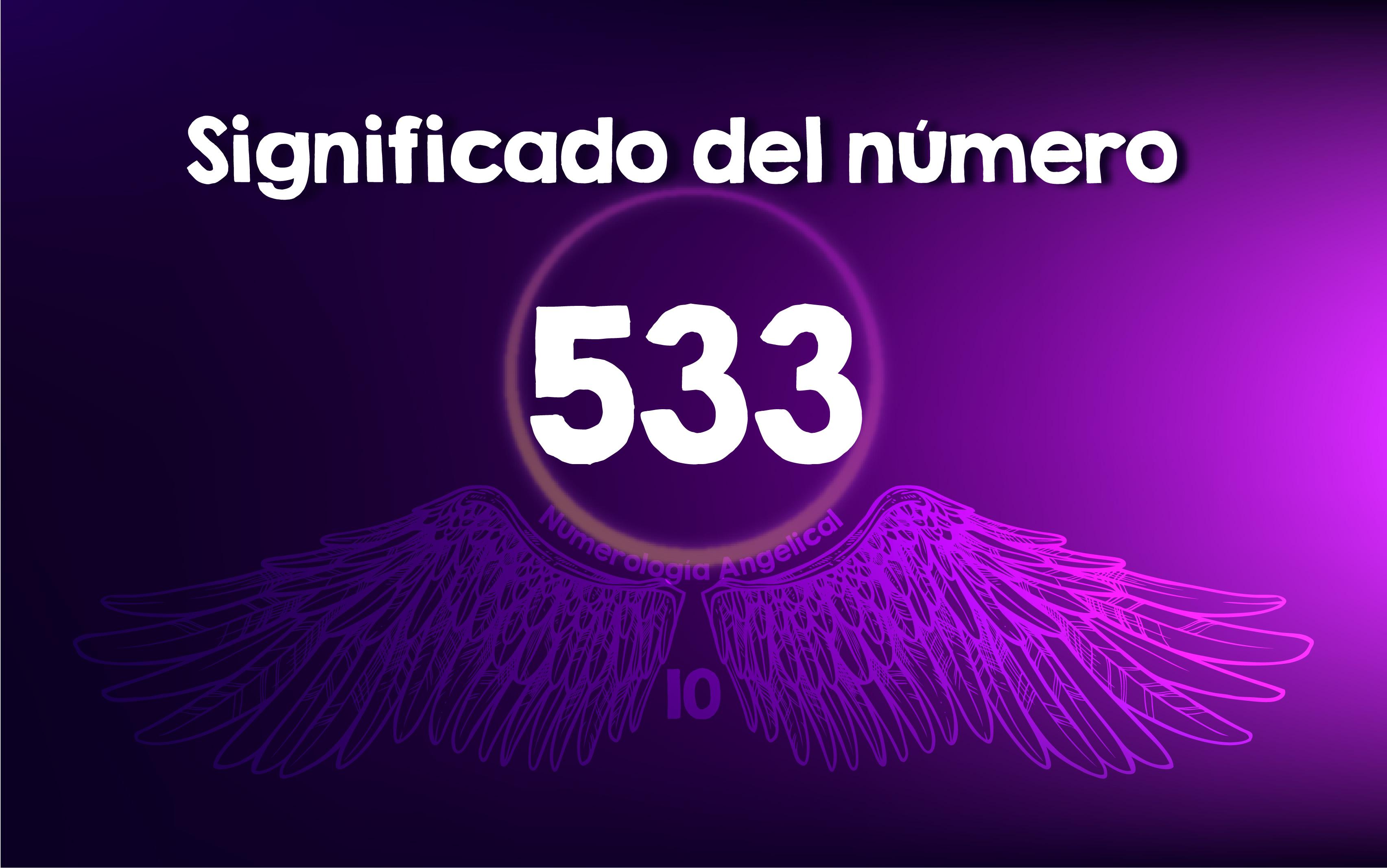 Significado del número 533