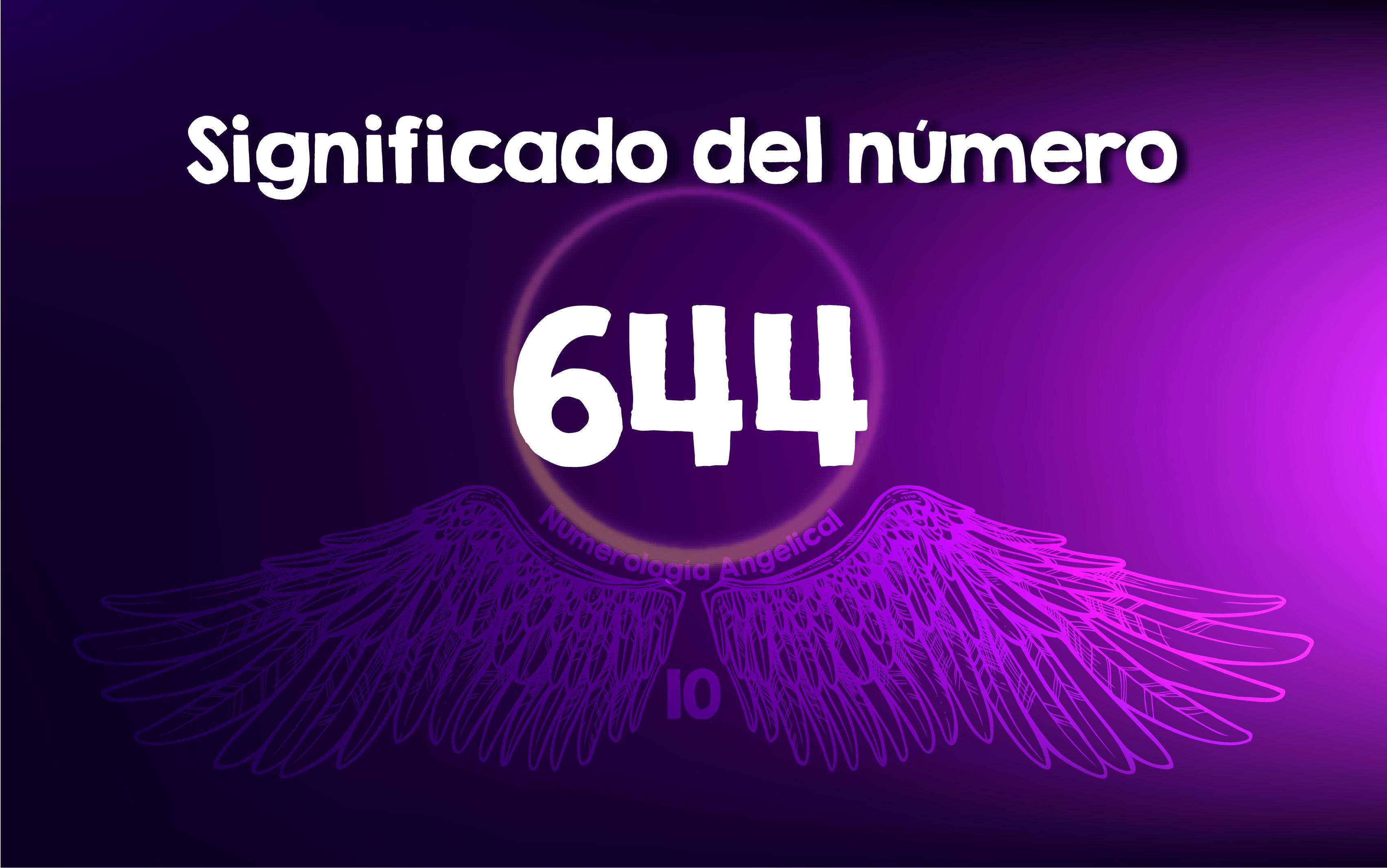 Significado del número 644