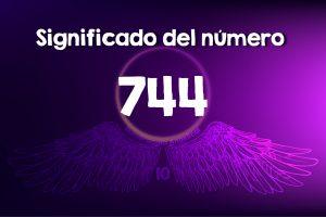 Significado del número 744