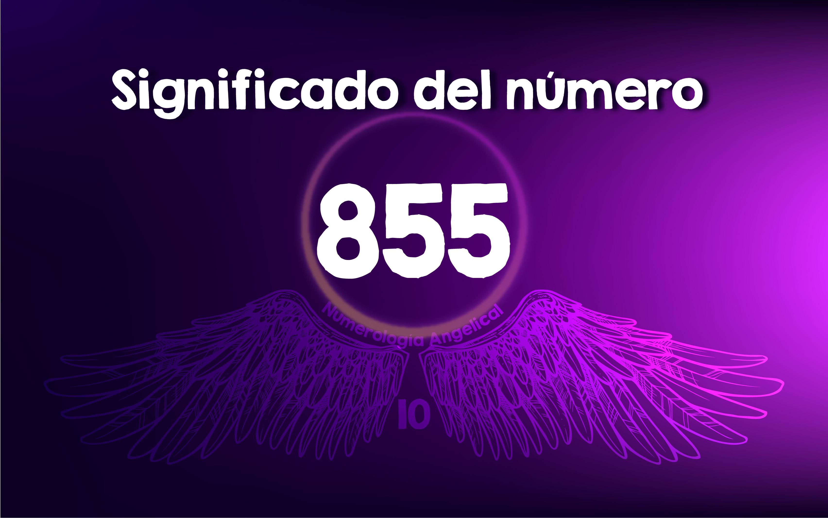 Significado del número 855